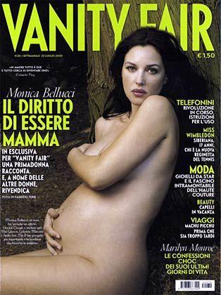 """Bellucci auf dem Titel von """"Vanity Fair"""""""