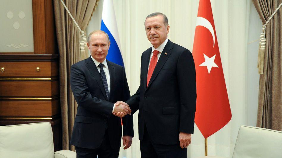 Vier-Augen-Gespräch in Istanbul: Putin und Erdogan