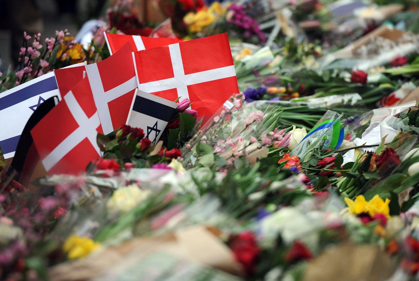After terror attack in Copenhagen - Synagogue