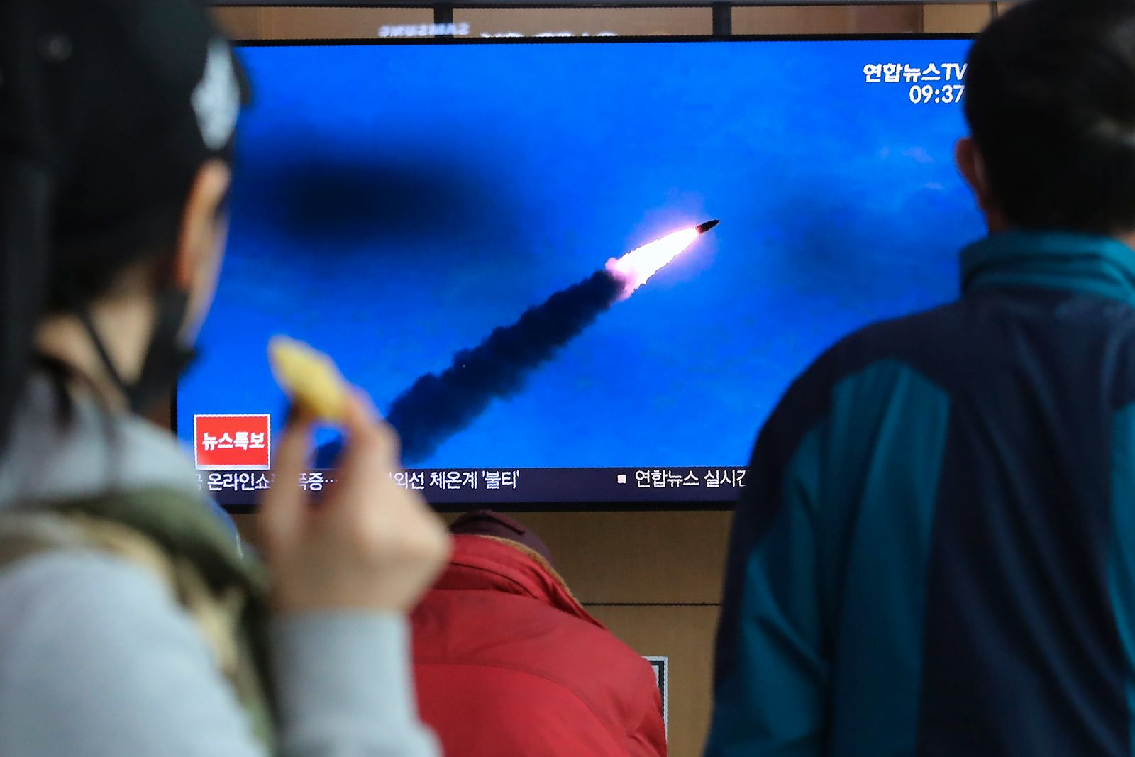 Südkorea: Nordkorea feuert erneut Raketen ab