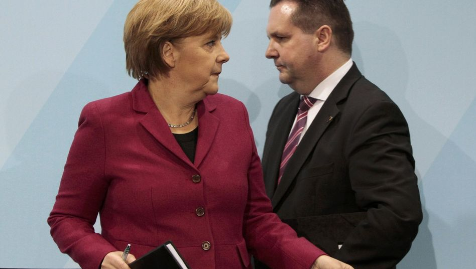 German Chancellor Angela Merkel and Baden-Württemberg Governor Stefan Mappus have both struggled with their credibility on nuclear energy in the last two weeks.