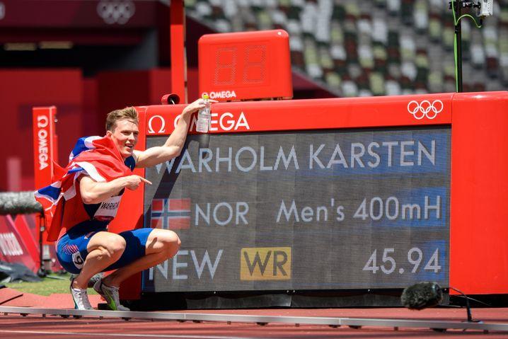 Warholm mit Weltrekord