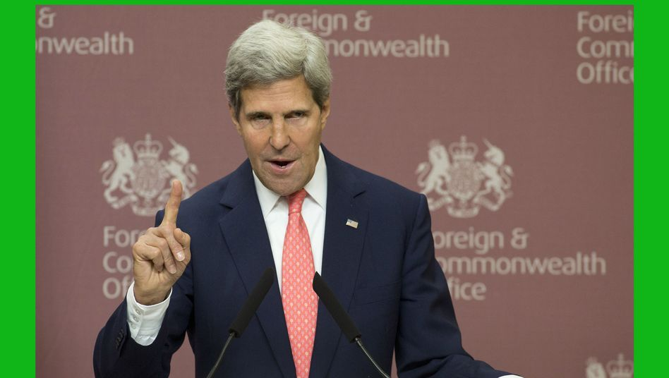 US-Außenminister Kerry: Bringt ein rhetorischer Lapsus Bewegung in den Syrien-Konflikt?