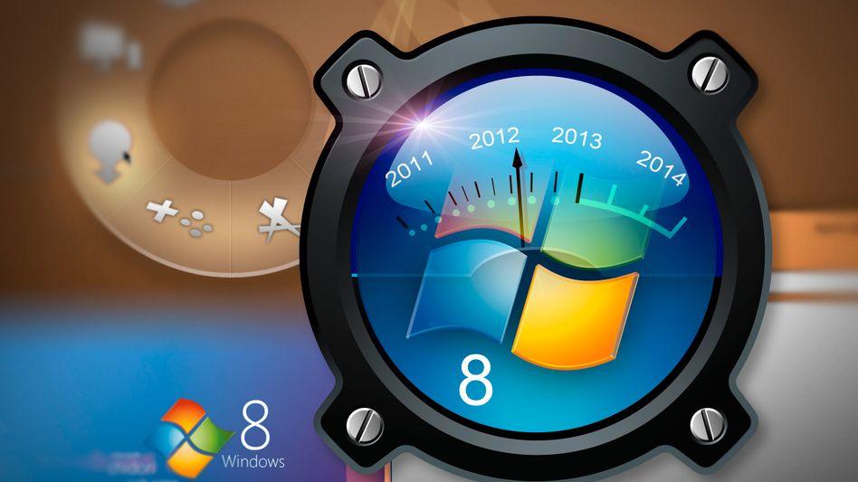 Windows 8 (Symbolbild): Das Aus für die Zwangs-Kaffeepause?