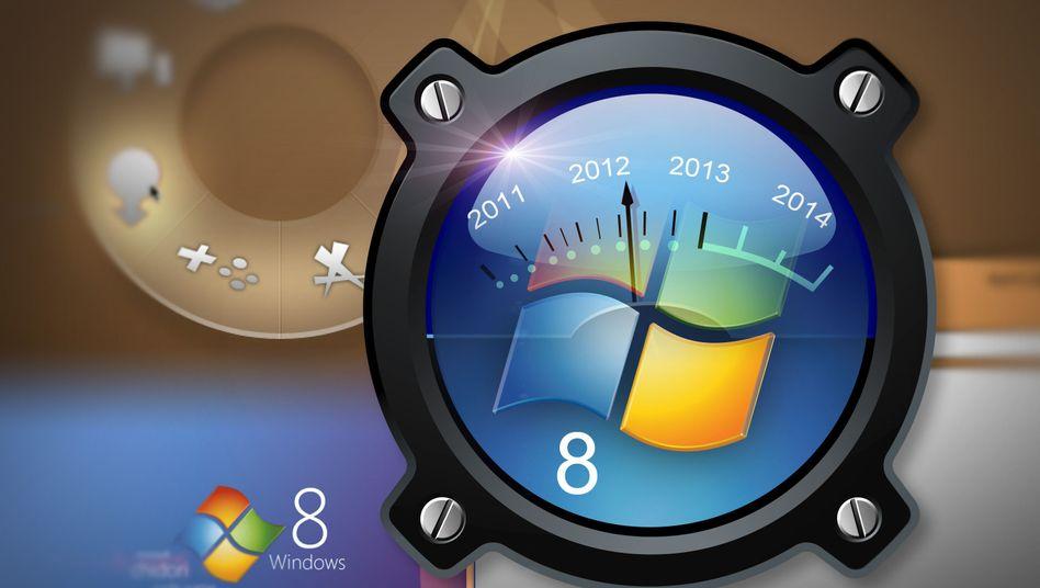 Windows 8 (Symbolbild): Ein erster Einblick am Dienstagabend