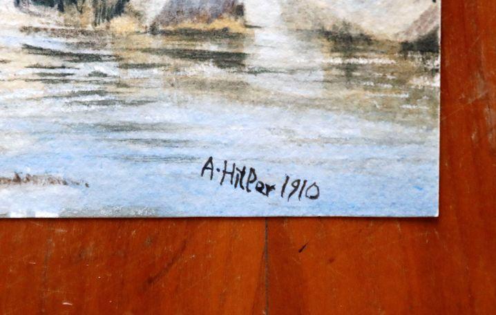 Angebliche Hitler-Signatur