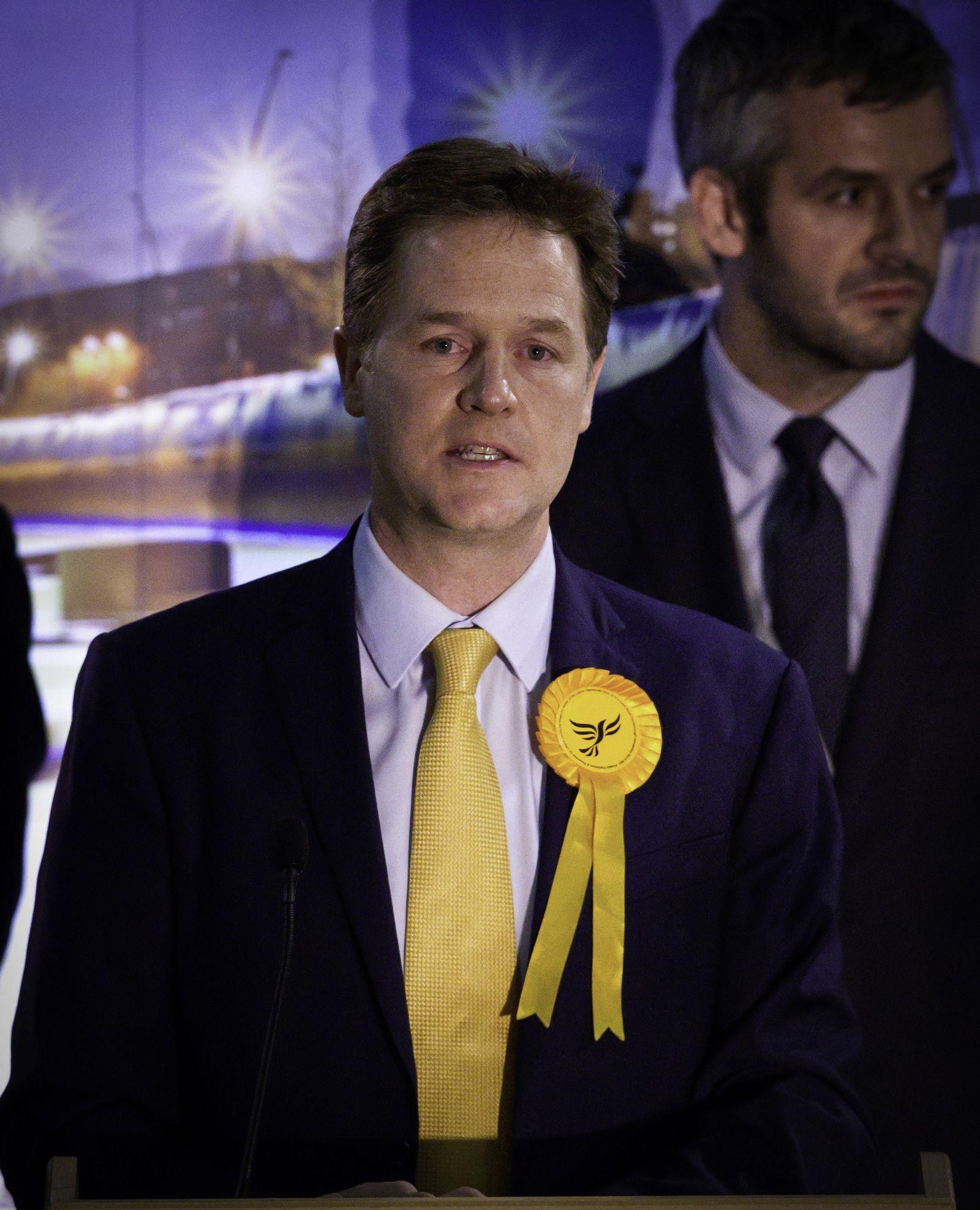 Großbritannien Wahl Nick Clegg