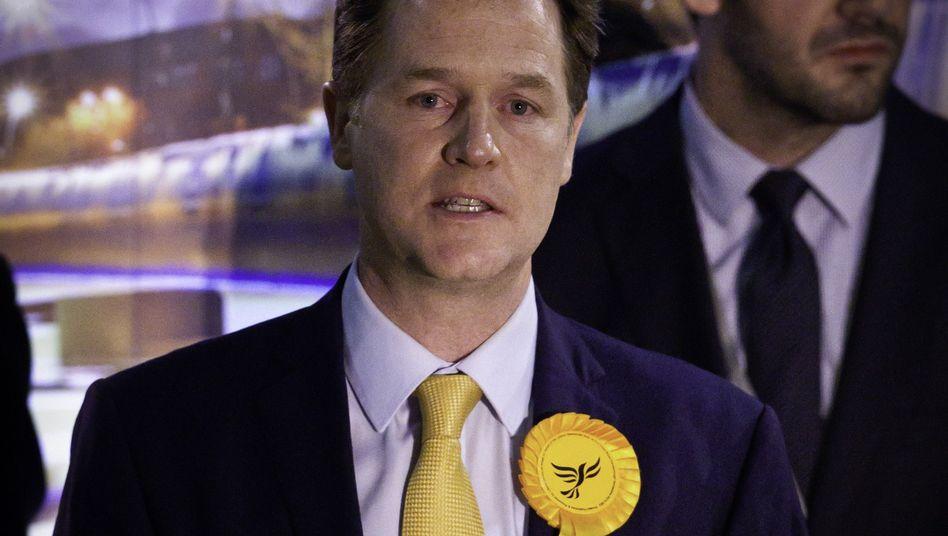 Chef der Liberaldemokraten Nick Clegg tritt auch zurück