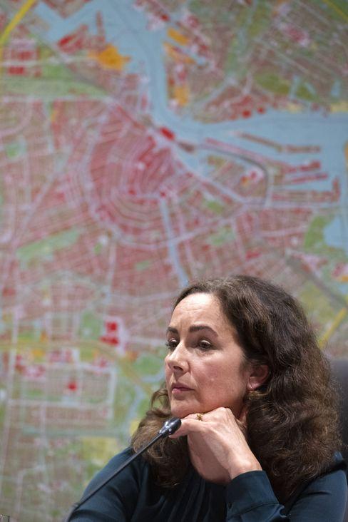 Amsterdam Mayor Femke Halsema