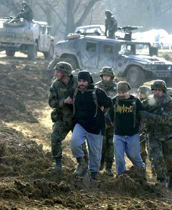 Rollenspiele auf dem US-Truppenübungsgelände in Hohenfels