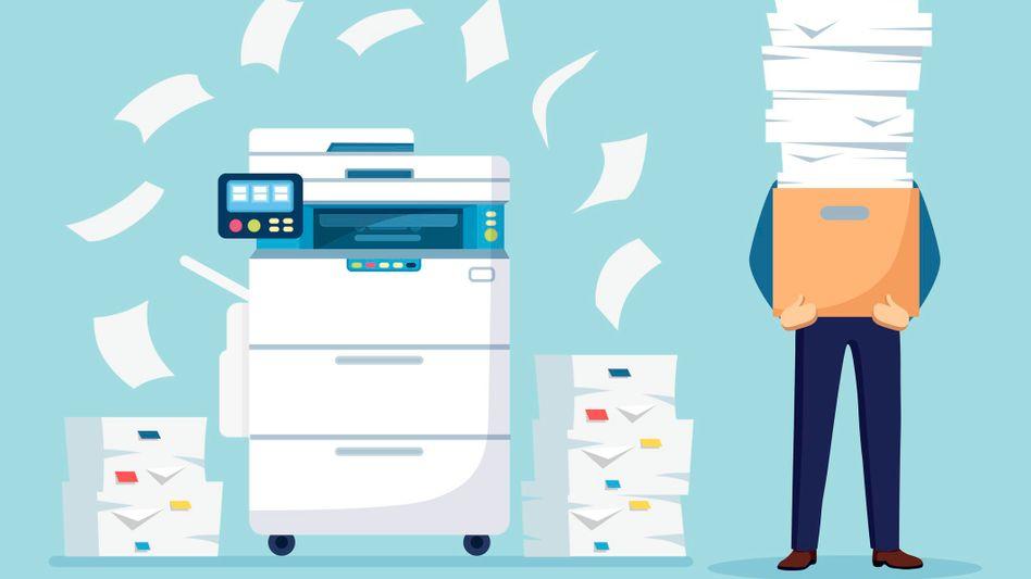 Kopieren geht über studieren: Als Vervielfältiger hat man einen vielfältigen Job