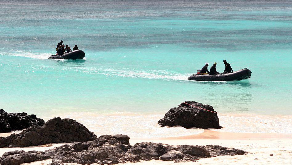 Suchtrupps vor den Komoren: Bei einem Absturz starben hier 141 Passagiere