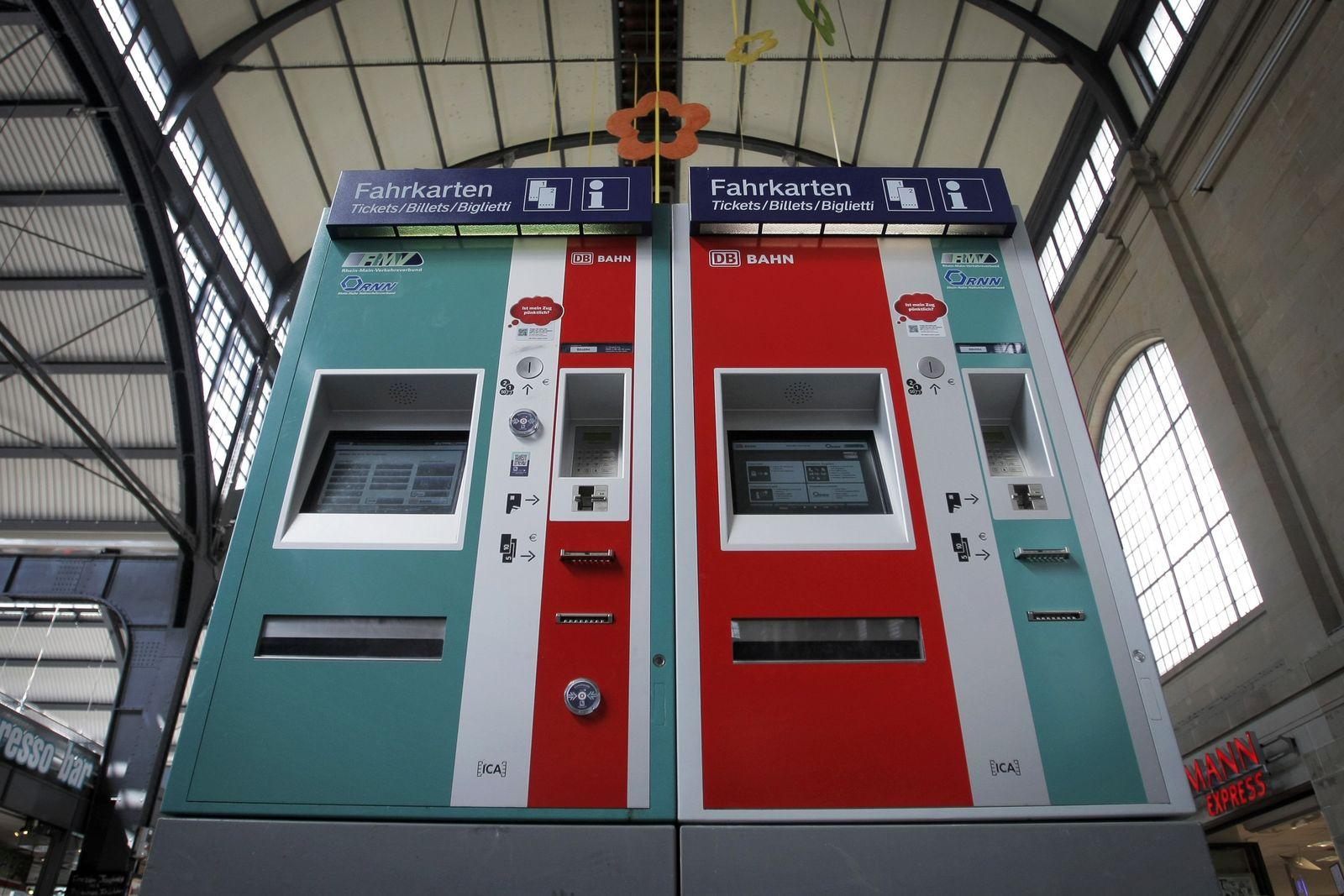 LKA warnt vor manipulierten Bahnfahrkartenautomaten