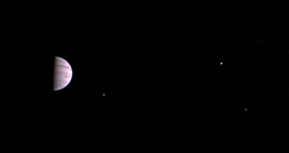 Nasa-Sonde «Juno» schickt erste Fotos vom Jupiter