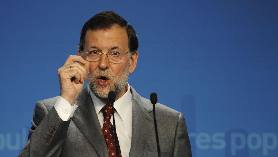"""Spaniens Premier Rajoy: """"Die hohen Zinsen machen unsere Anstrengungen zunichte"""""""