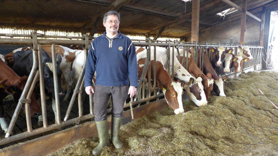 Ottmar Ilchmann, 57, ist Milchbauer und Landeschef der Arbeitsgemeinschaft Bäuerliche Landwirtschaft in Niedersachen/Bremen