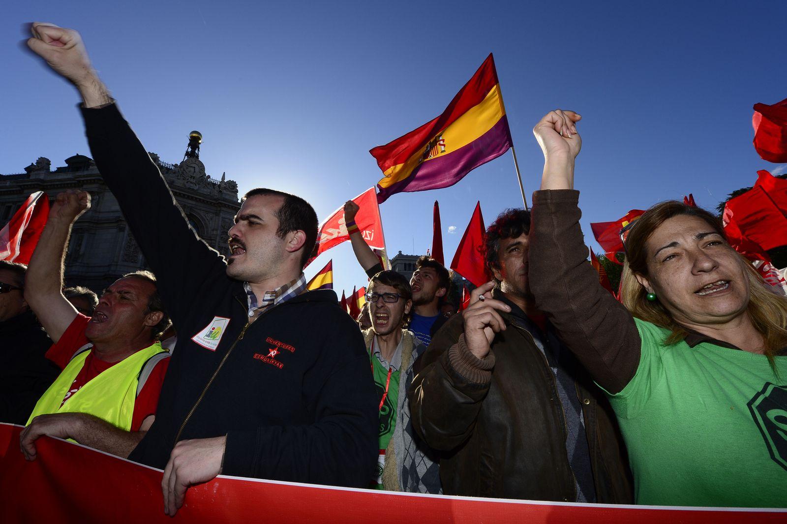 Spanien Demo