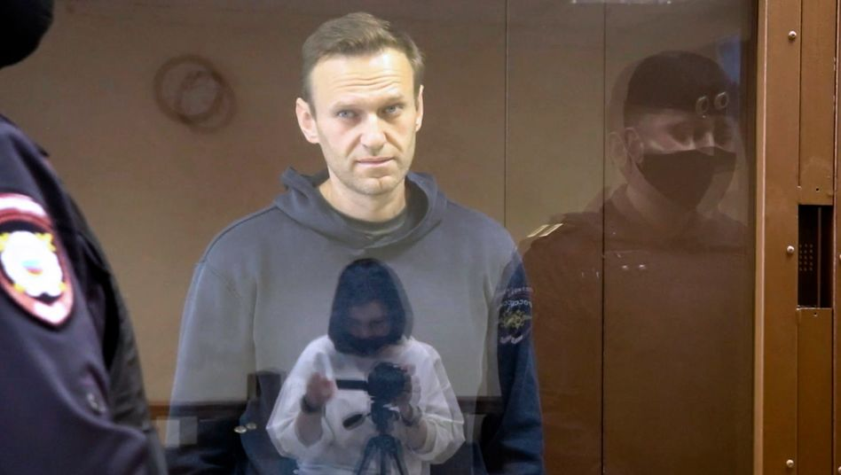 Alexej Nawalny: seit Beginn des Hungerstreiks acht Kilo verloren