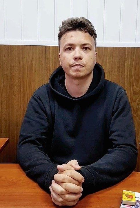 Opposition activist Roman Protasevich