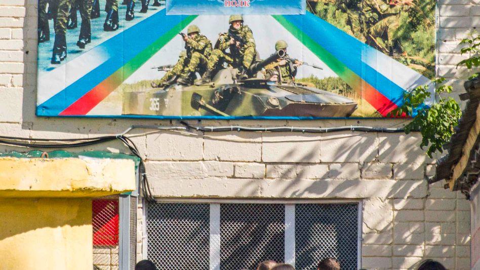 Mütter und Freunde russischer Soldaten (Archiv): Kontakt zu Söhnen in der Armee verloren
