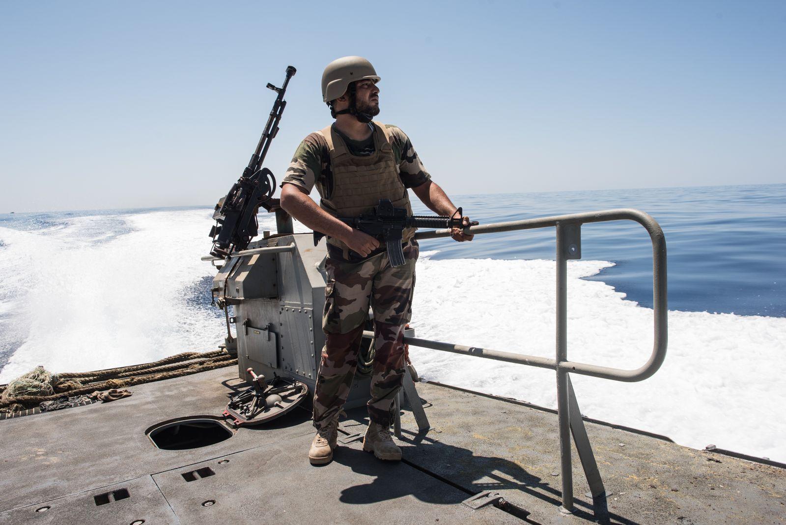 Libyen Küstenwache Coast Guard