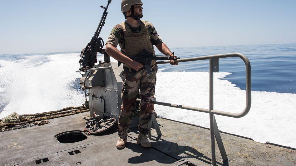 Libysche Küstenwache (Archivbild)