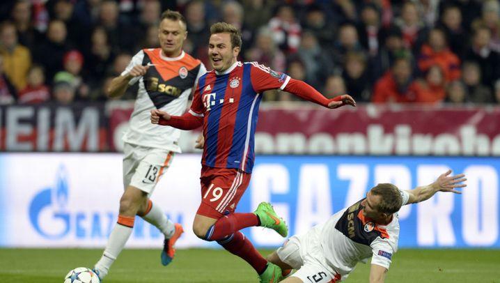 Bayern-Sieg gegen Donezk: Wie im Training
