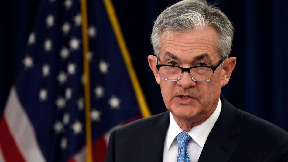 US-Notenbankchef Jerome Powell hat die Geldpolitik erneut gelockert