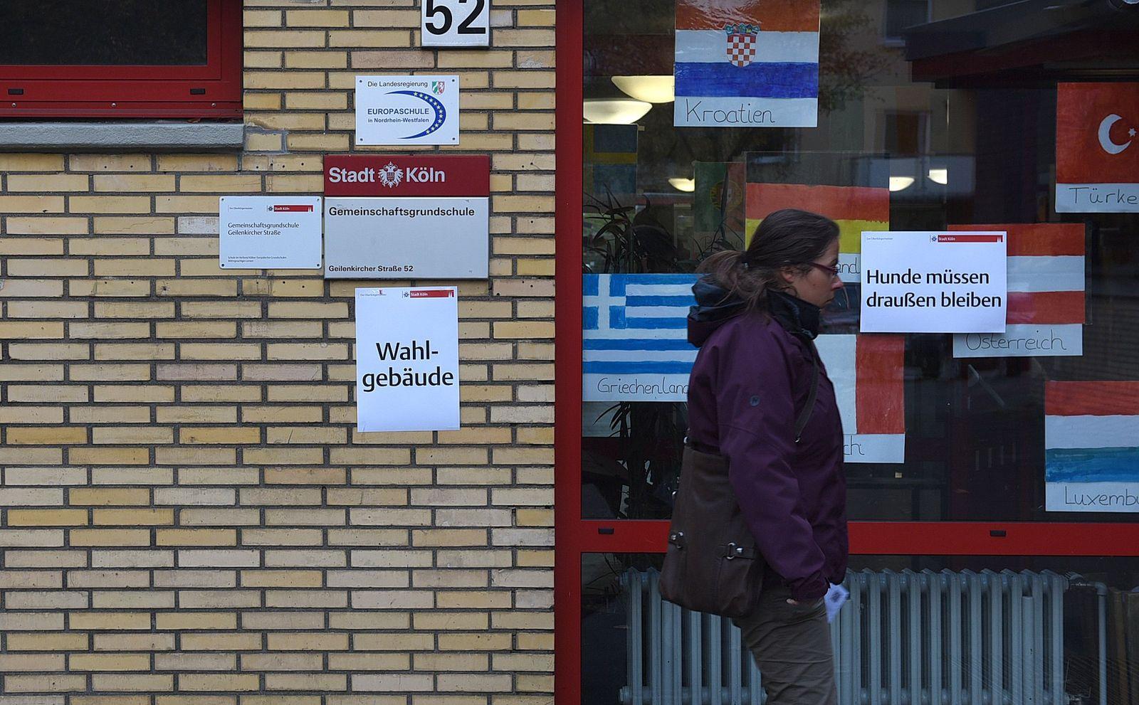 Deutschland/ Köln/ Wahlen