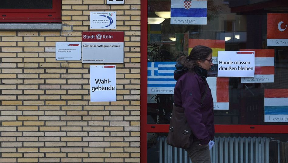 Wahllokal im Kölner Stadtteil Braunsfeld: Apathie der Vielen