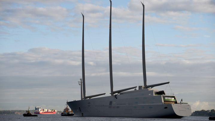 Megajacht aus Kiel: Der größte Dreimaster der Welt