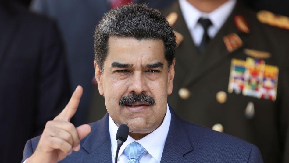 """Nicolás Maduro (Archivbild) will Schluss machen mit """"europäischem Kolonialismus gegen Venezuela"""""""
