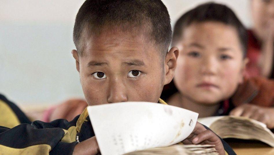 Schüler in China: Sehr gut im Wissen, Mangelhaft in Kreativität