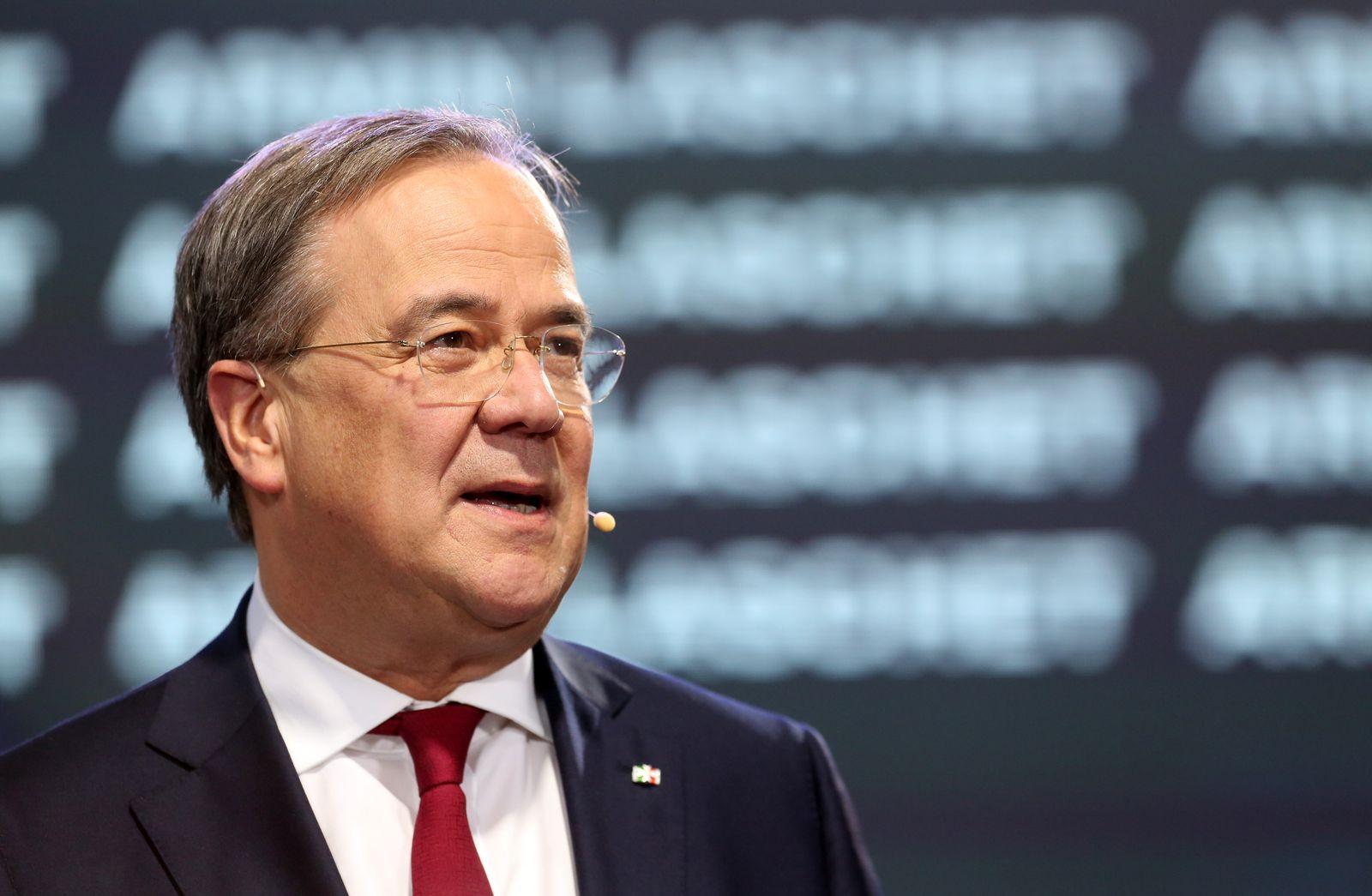 CDU leadership debate in Berlin, Germany - 17 Oct 2020