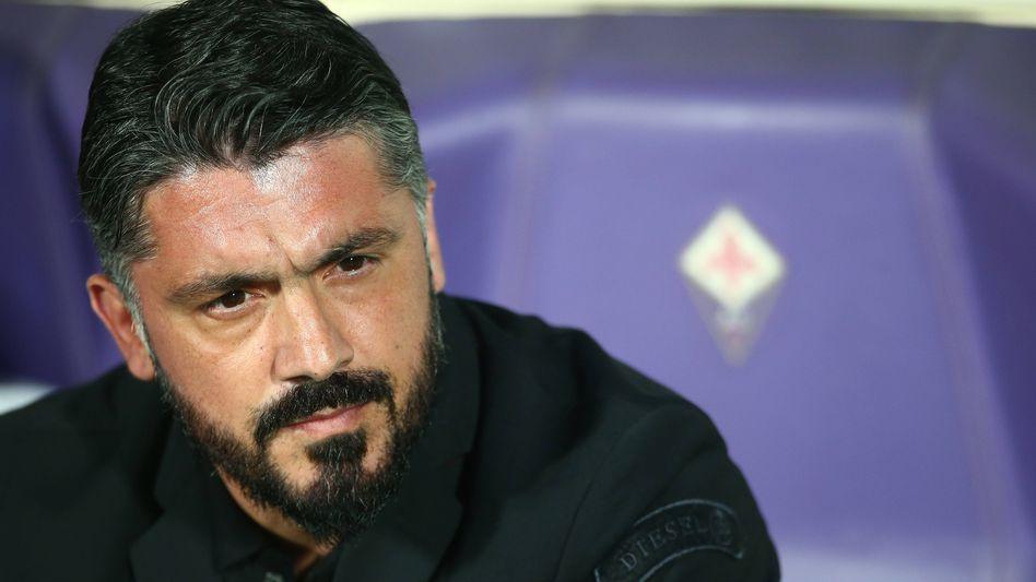 Gennaro Gattuso wird kommende Saison nicht bei Florenz trainieren