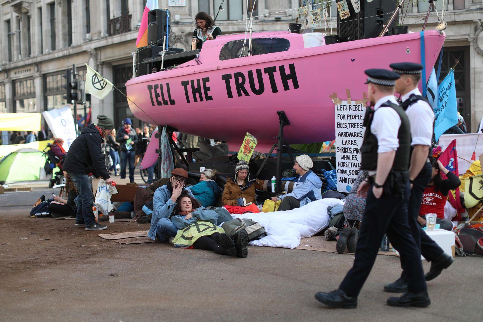 Demonstration Klima London
