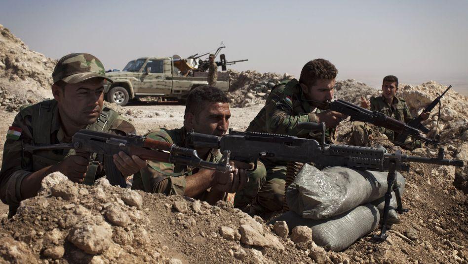 Kurdische Peschmerga-Kämpfer bei Mossul: Ausbildung in Deutschland