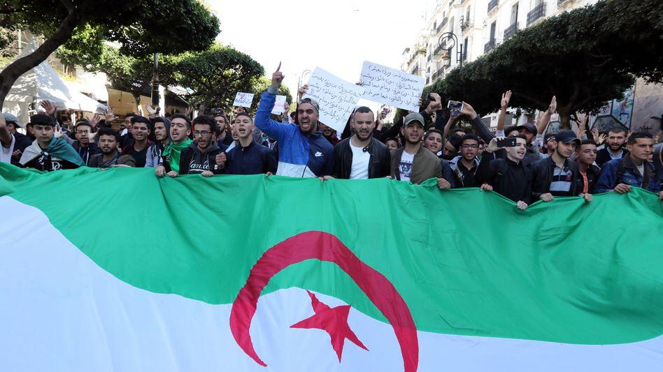 Demo in Algier