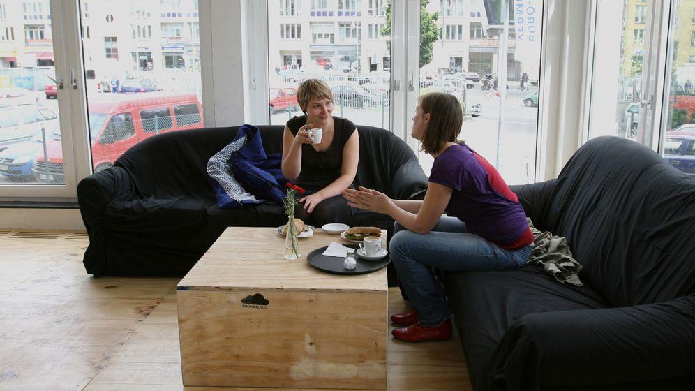 """Coworking Spaces"": Kreativszene im Betahaus"