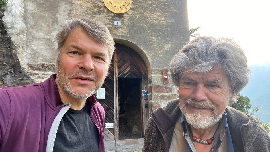 Biker Dambeck, Kletterer Messner