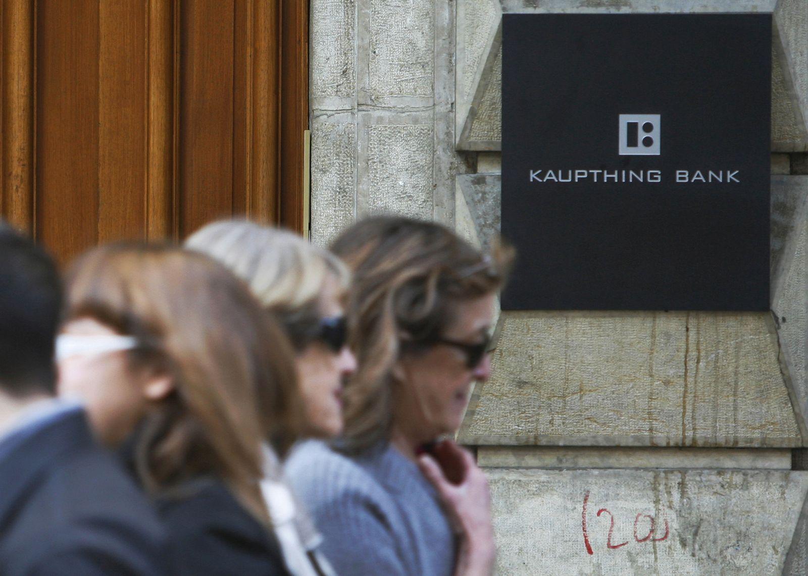 Kaupthing Bank / Genf / Eingang