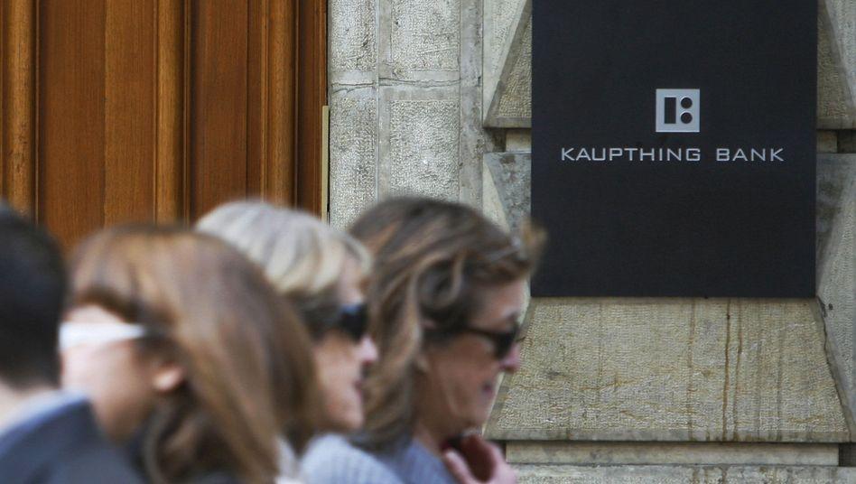 Kaupthing-Filiale: Gewaltige Gläubigerforderungen