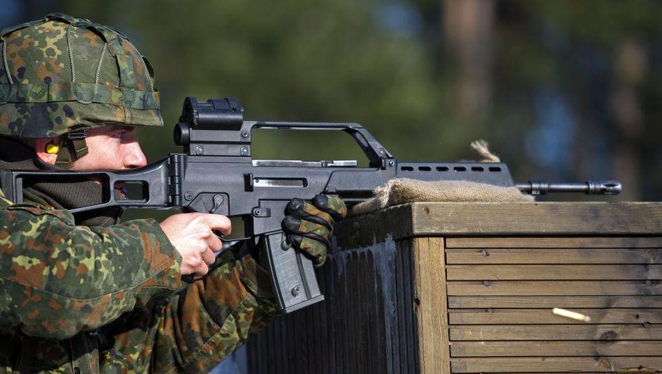 """Bundeswehrrekrut bei Schießübung: """"Erheblicher Reputationsschaden"""""""