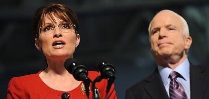 Republikaner Palin, McCain: Die religiöse Rechte atmet auf