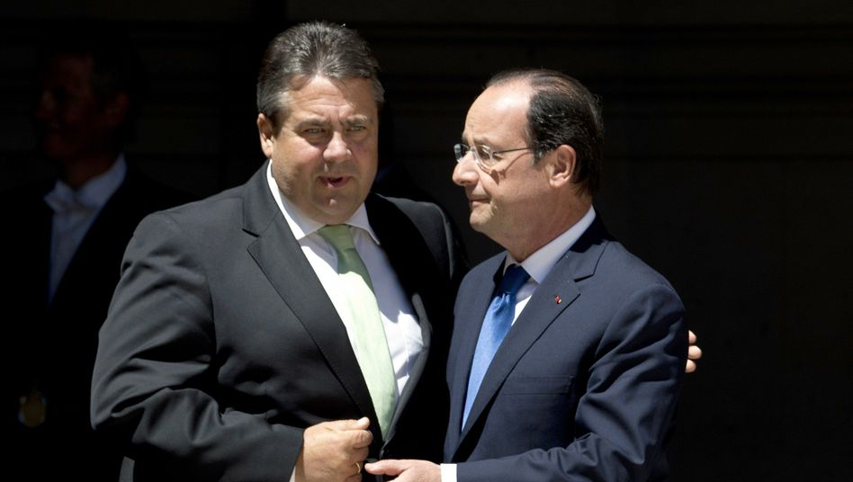 Wunsch nach Kurswechsel in der Wirtschaftspolitik: Linke Gabriel, Hollande