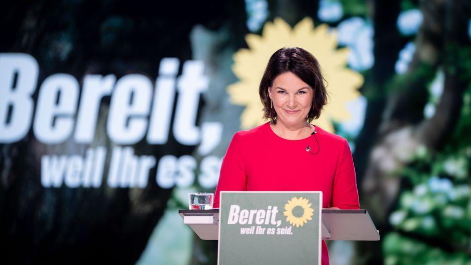 Als Kanzlerkandidatin bestätigt: Annalena Baerbock