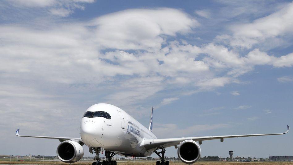 A350 XWB nach Testflug in Frankreich: Airbus feiert drei Rekorde in einem Jahr