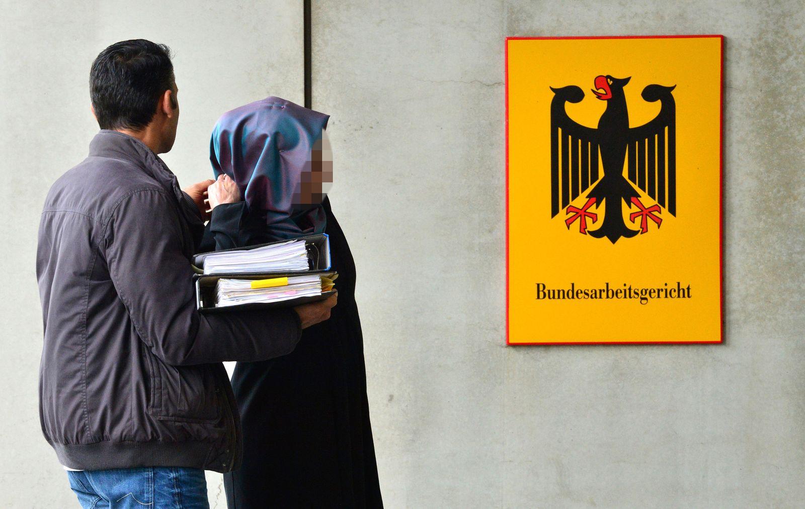 Bundesarbeitsgericht/ Kopftuch