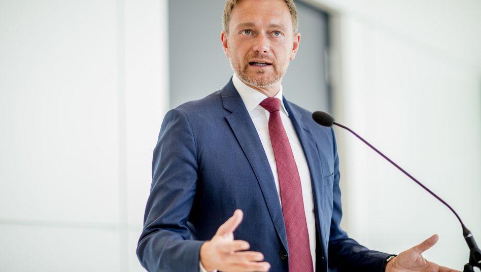 FDP-Partei- und Fraktionschef Lindner