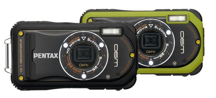 Optio W90: Die Kompaktkamera kann bis zu sechs Meter tief tauchen